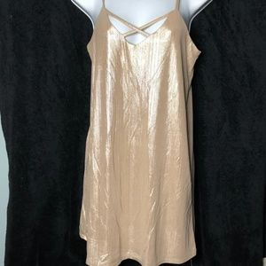 Gold Shimmery Dress